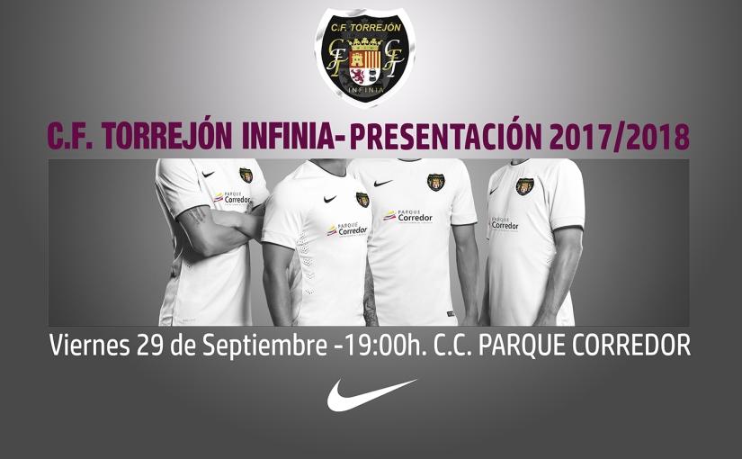 Presentación oficial del C.F. TorrejónInfinia